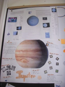 planet projects from 6th class