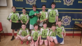 Well done to the lads from 6th class who participated in the recent Garda basketball tournament in Neptune Stadium.