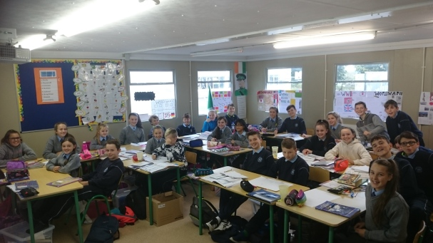 Happy days in 6th class, please find other pictures from August to September under Mr O'Sullivan's page.