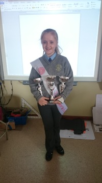 Well done Olivia!